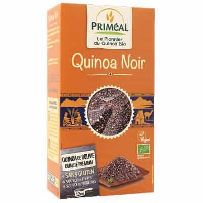 produit végétarien quinoa noir primeal