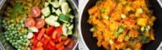 recette vegetarienne one pot pasta cremeux asiatique