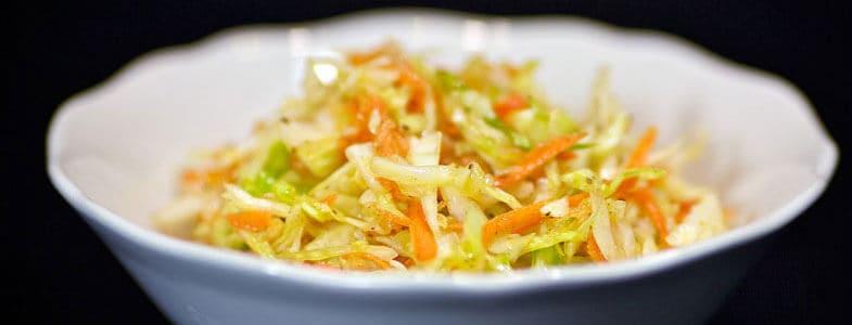 Salade chou chinois carottes