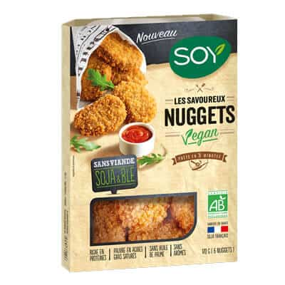 nuggets vegan soy