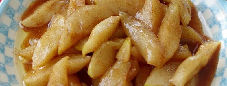 Pommes rôties aux épices