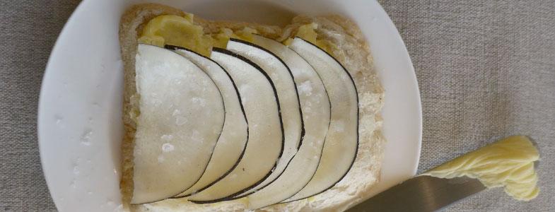 Radis noir à la croque au sel