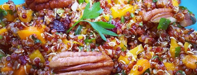 Salade de potimarron et quinoa