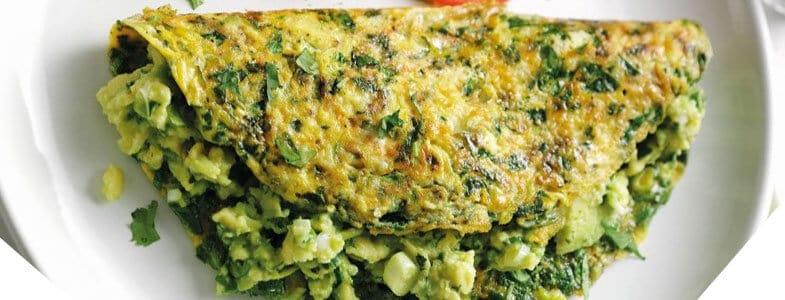 Omelette verte