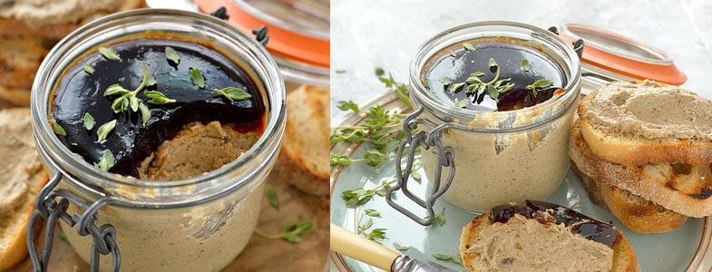 Recette vegetarienne Noël – Pâté aux champignons