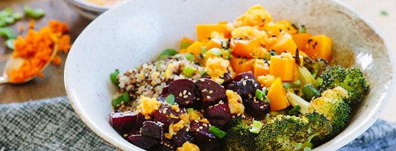 Quinoa aux légumes grillés