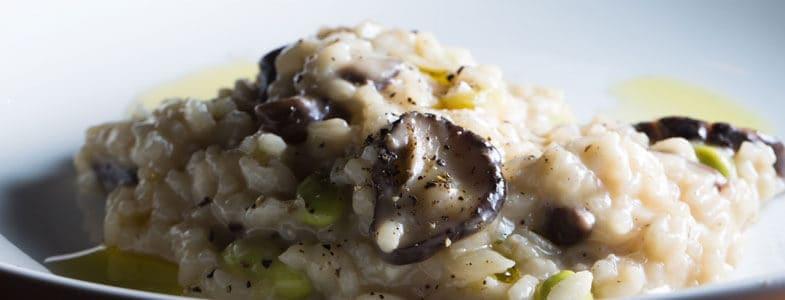 Recette végétarienne – Risotto aux shiitake et edamame