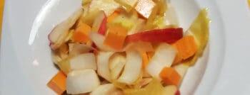 salade endives pommes mimolette