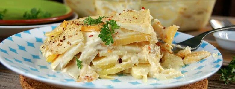 recette vegetarienne gratin legumes racines
