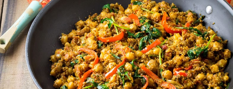 one pot quinoa indien
