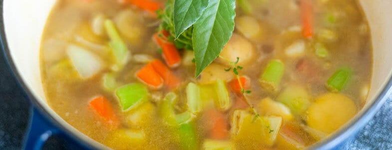 soupe legumes pot de feu