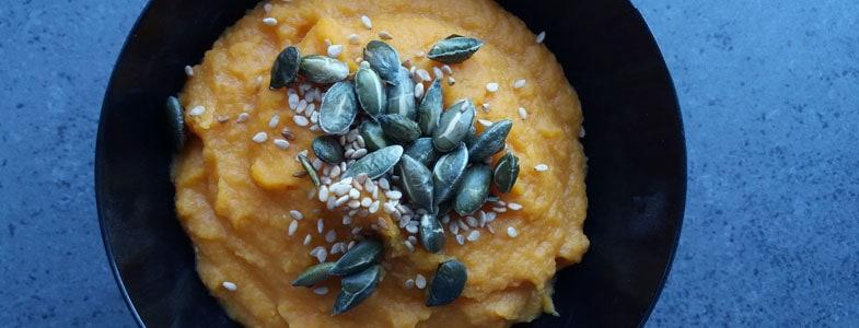 Dips carottes et lentilles corail