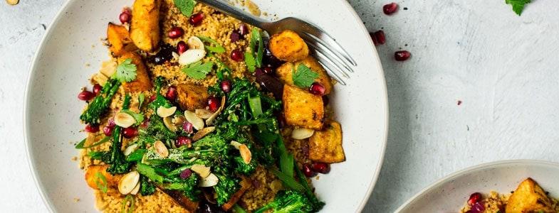 Recette végétarienne - Couscous aux panais rôtis