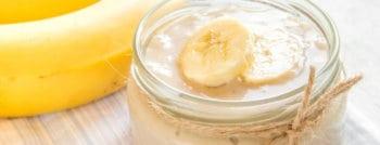 recette dessert vegan - creme banane