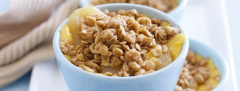 recette vegetarienne crumble nashis