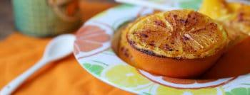 recettes vegetariennes oranges roties