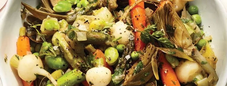 Ragoût de légumes de printemps