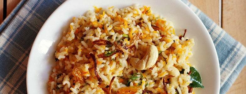 Riz indien aux carottes