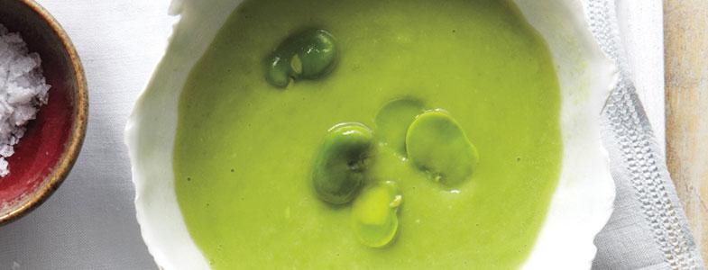recette vegetarienne soupe feves