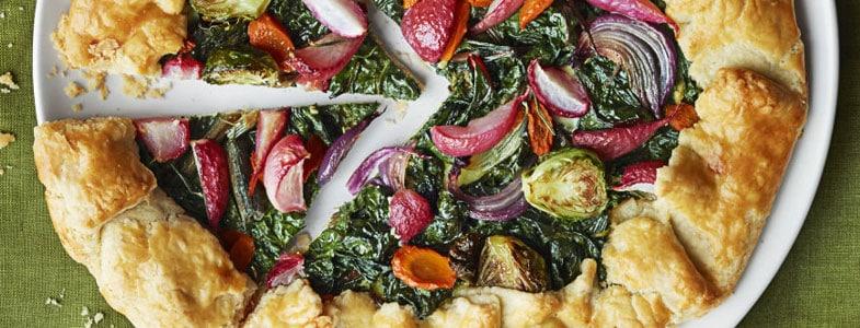 recette vegetarienne tarte hiver