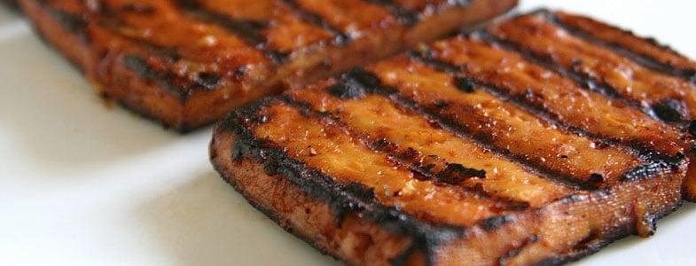 recette vegetarienne tofu mariné grillé