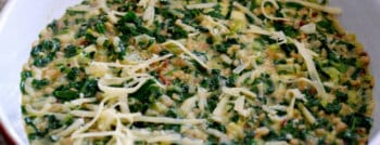 recette vegetarienne gratin riz blettes