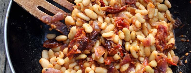 recette-vegetarienne-flageolets-tomates