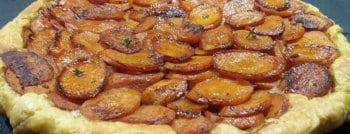 recette vegetarienne tatin carottes