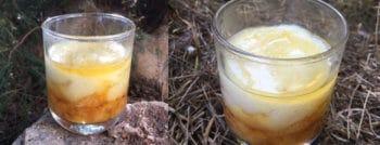 recette dessert vegan semoule lait confit clementines