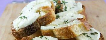 toasts chevre