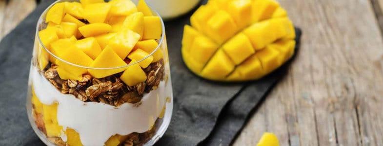 Yaourt granola mangue