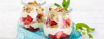 fraises granola