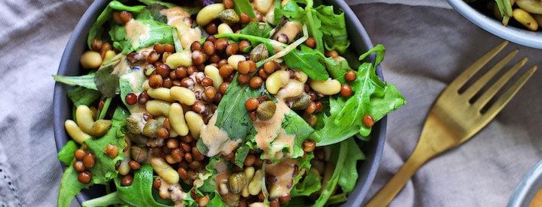 Salade ultra protéinée