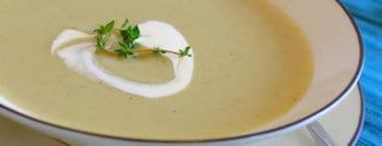 recette vegetarienne soupe artichauts