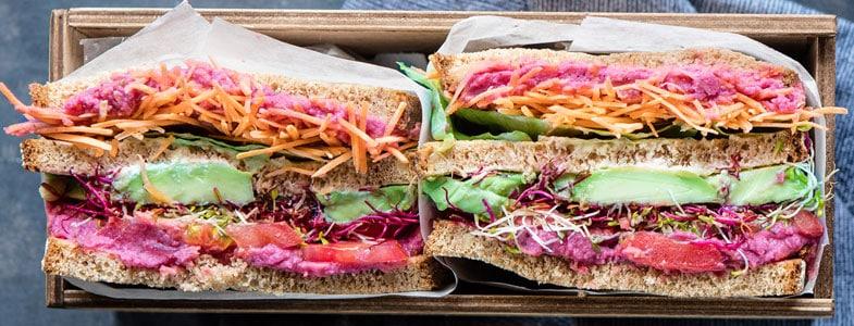 Super Sandwich végétarien
