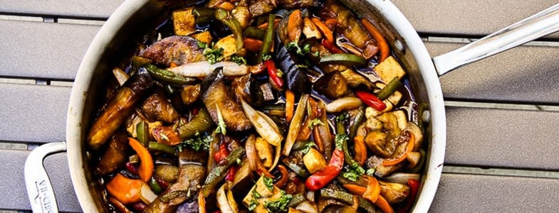 recette-vegetarienne-aubergines-thailandaise