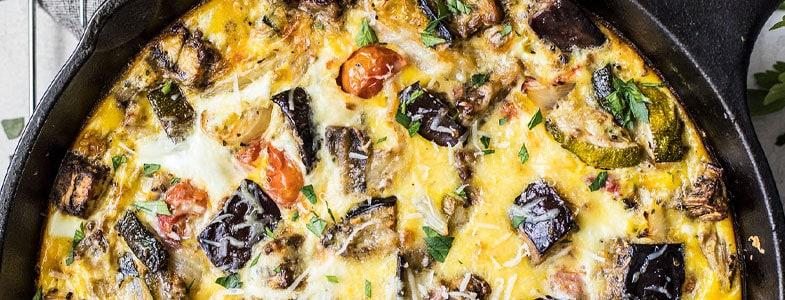 recette-vegetarienne-frittata-ratatouille