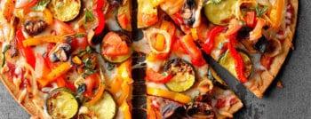 recette vegetarienne pizza légumes ete