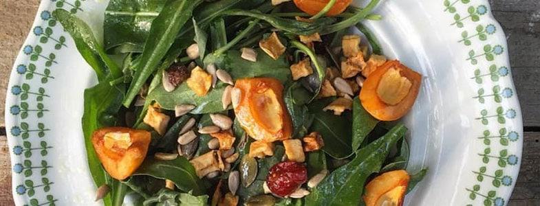 recette-vegetarienne-salade-roquette-nefles