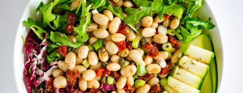 Salade toscane aux haricots blancs