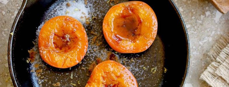 Abricots rôtis au sirop d'agave