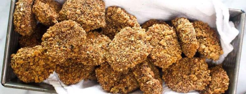 Nuggets vegan aux protéines de soja