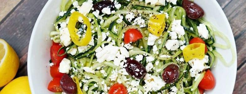 Salade de concombre à la Grecque
