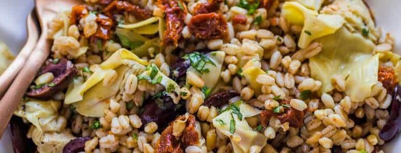 Salade de blé à la méditerranéenne