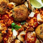 recette-vegetarienne-boulgour-tomates-falafels