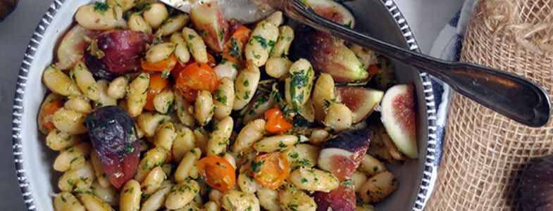recette-vegetarienne-flageolets-figues-tomates