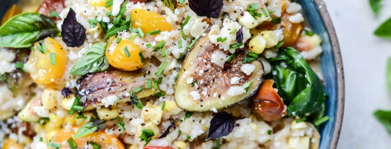 recette-vegetarienne-risotto-tomates-roties-figues
