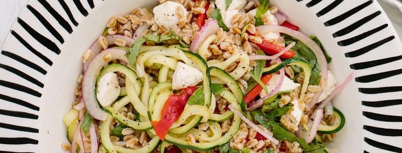 Salade d'été à l'épeautre