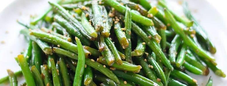 Haricots verts à l'asiatique
