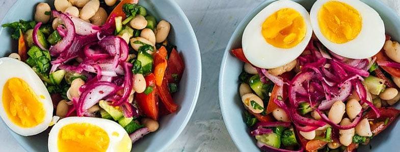 Salade de haricots blancs à la turque